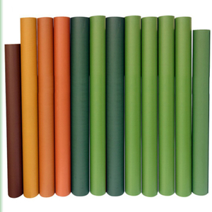 Green PVC Artificial Lawn Grass Film Sheet Roll