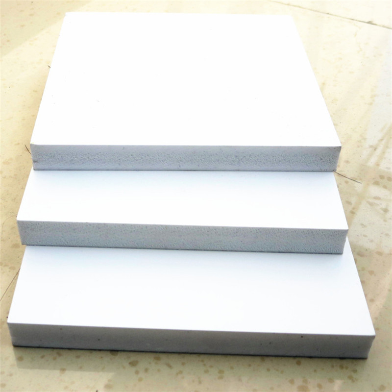 China Factory Thick Rigid Pvc Foam White Sheets Board